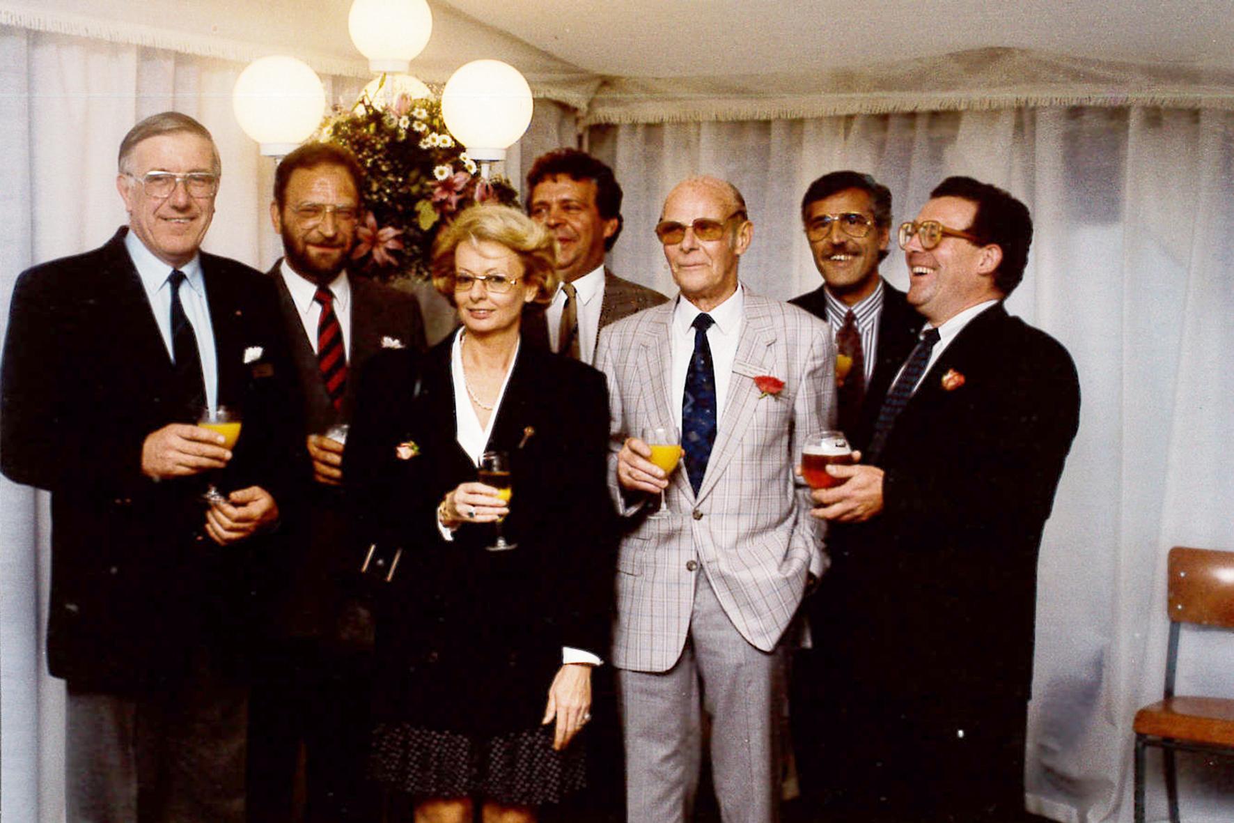 Bestuur cup Carl Gantois 1988
