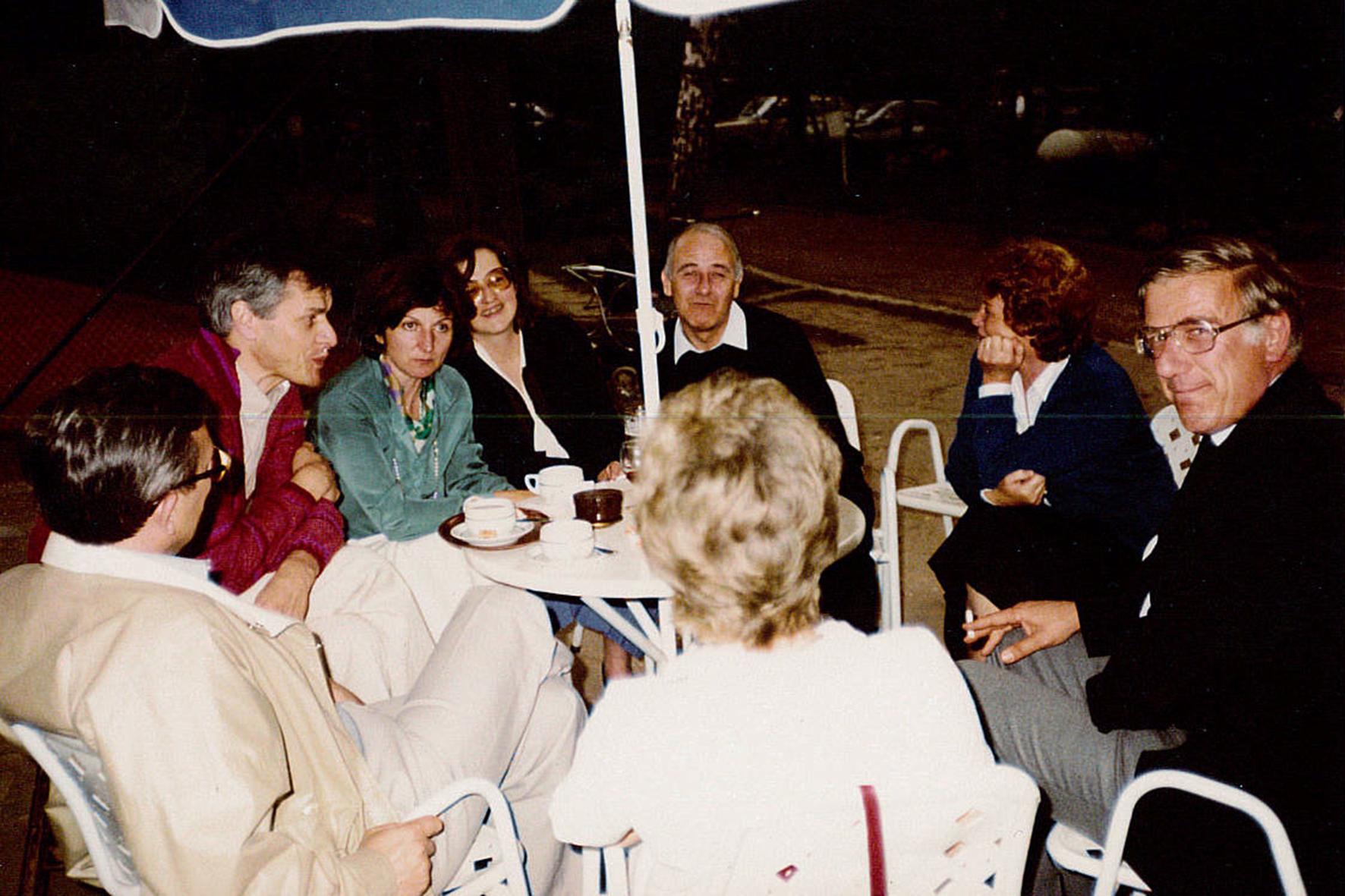 BBQ augustus 1981