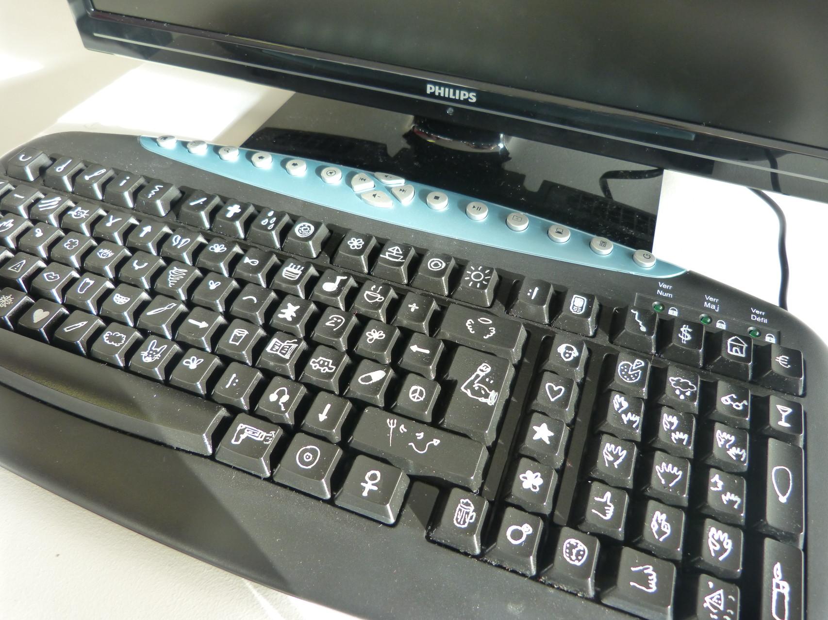 ordinateur pour illétré