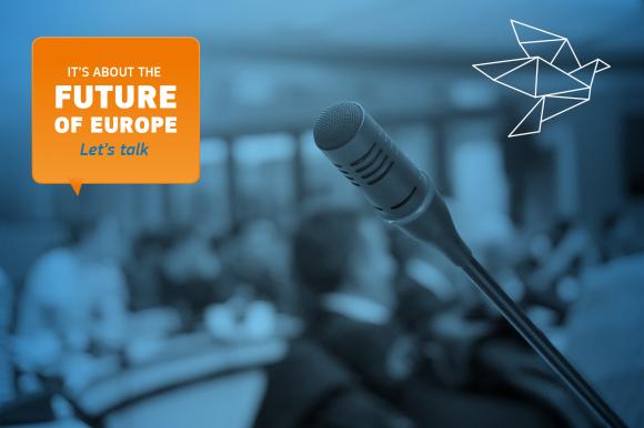 Πάρε μέρος κι εσύ στη Διαδικτυακή Διαβούλευση για το μέλλον της Ευρώπης!