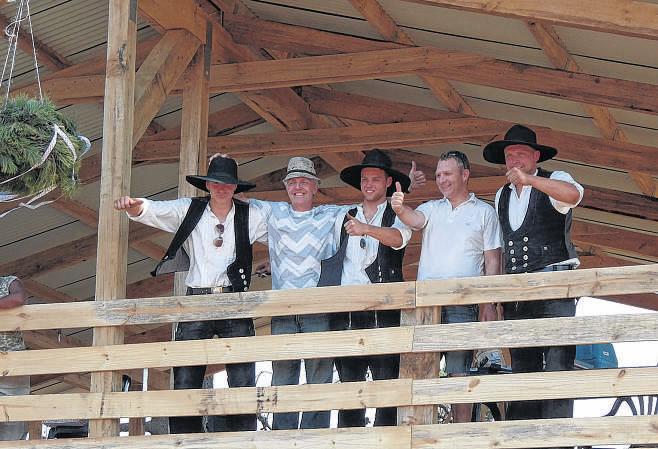 Das Team (Dinsing, Kretschmer, Hortig, Zimmermann, Knop)