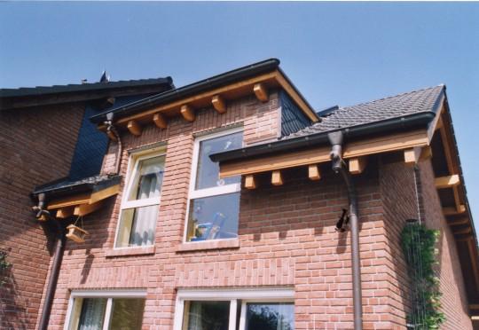 Holzdach in Bochum Weitmar