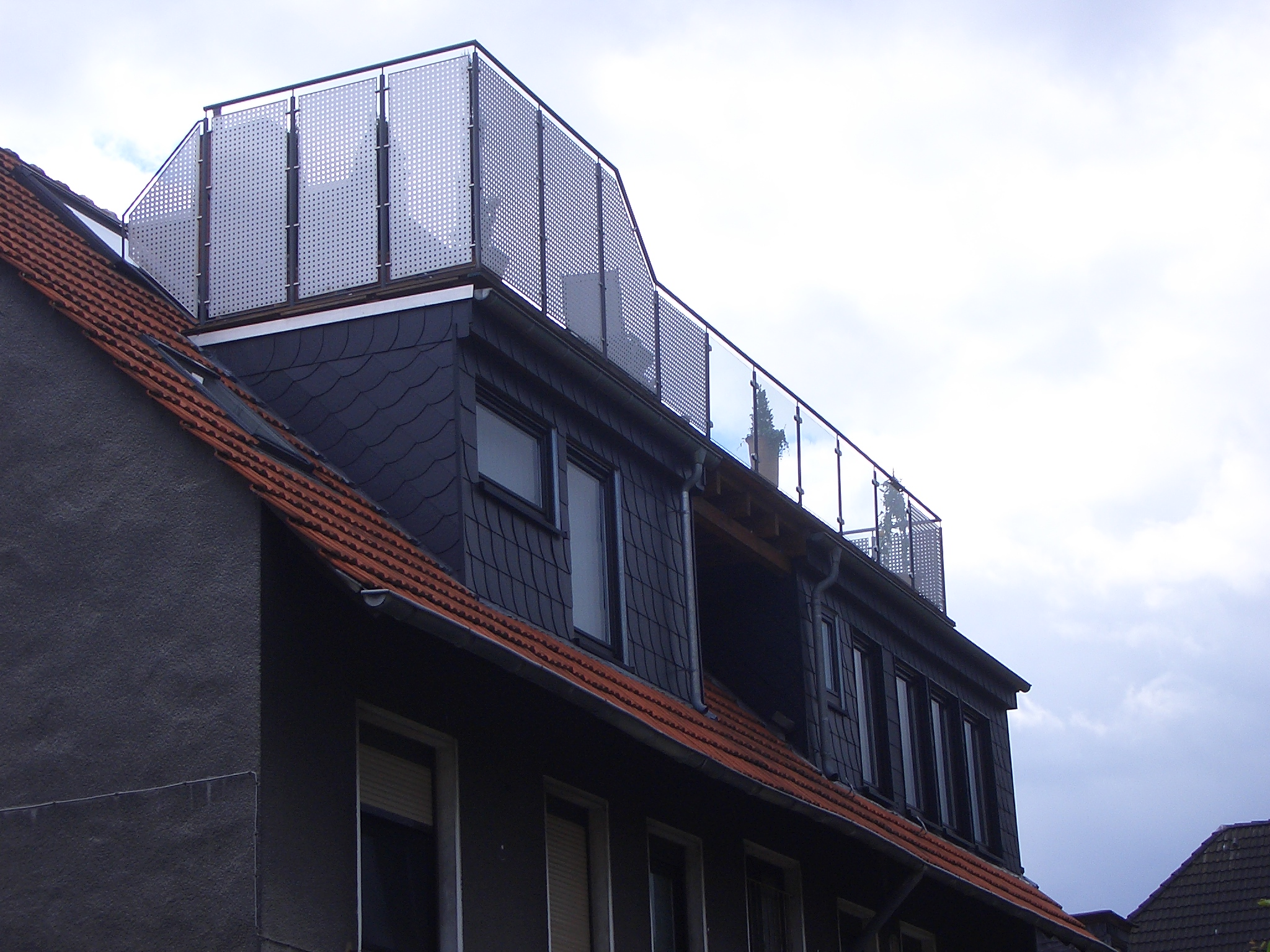 Gaube mit Terrasse
