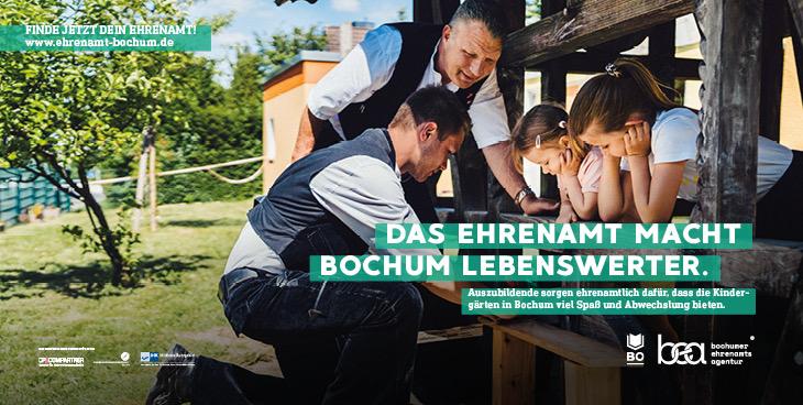 Louis und Stefan Zimmermann sind im Ehrenamt tätig (Foto 2020)