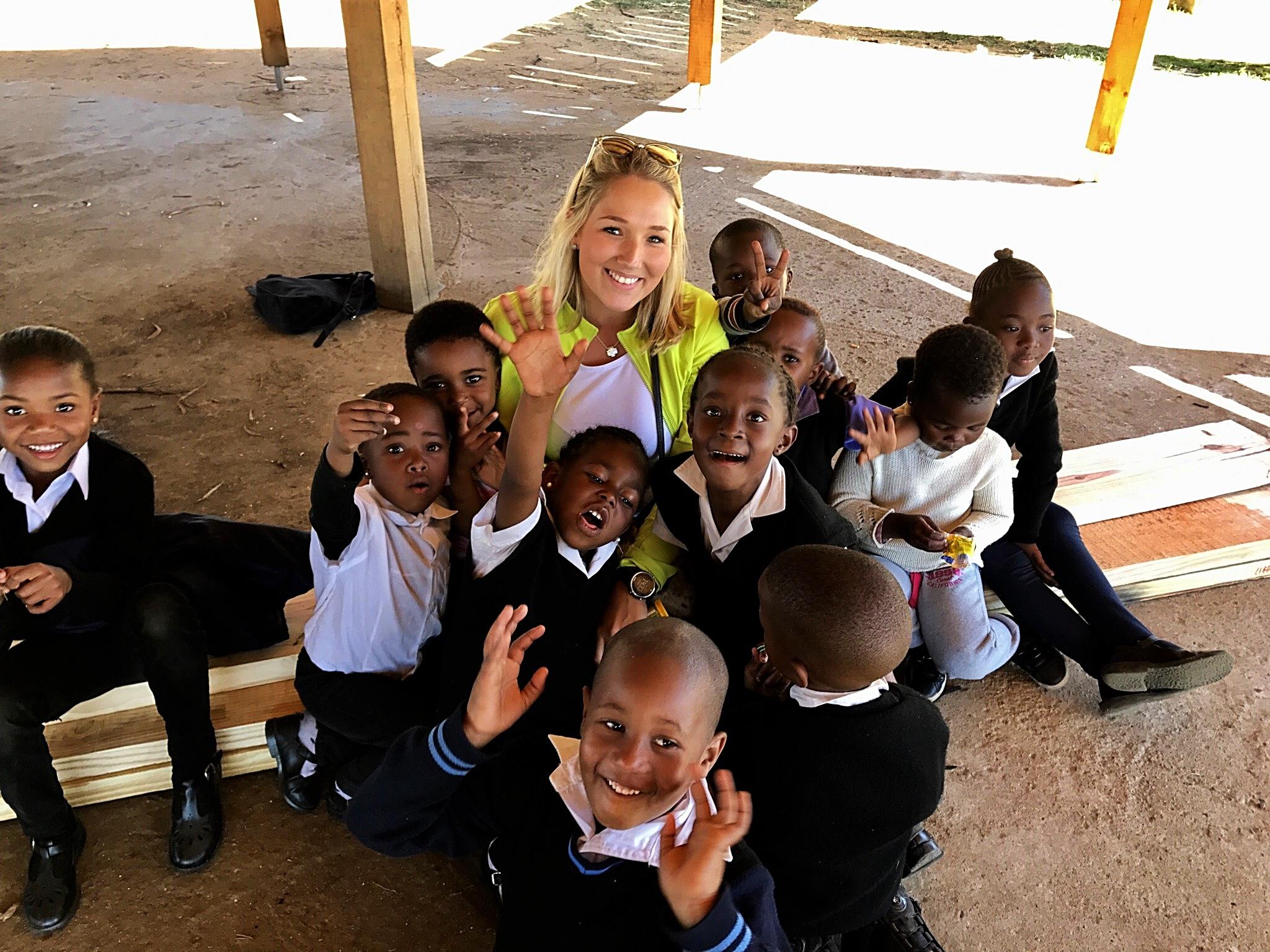 Die Zusammenarbeit mit den Kindern hat uns sehr viel Spaß gemacht!