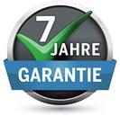 7 Jahre Garantie auf den Glasabzieher!