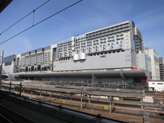 京都 駅 ホーム ポスト