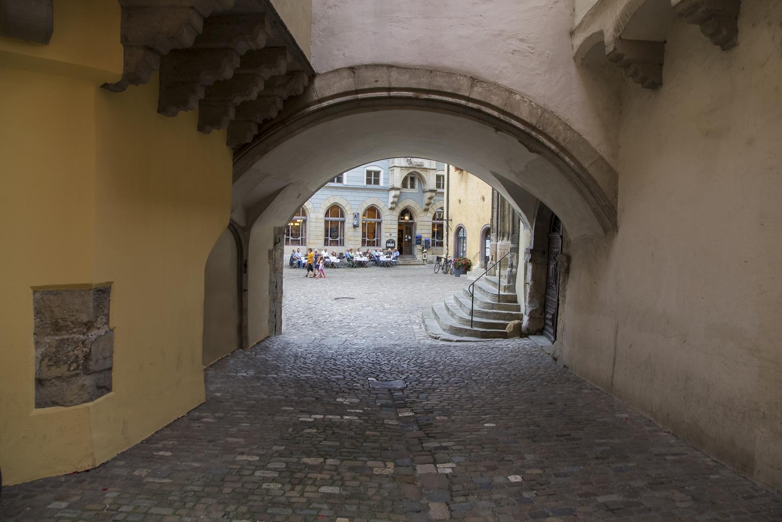 Tor altes Rathaus Regensburg