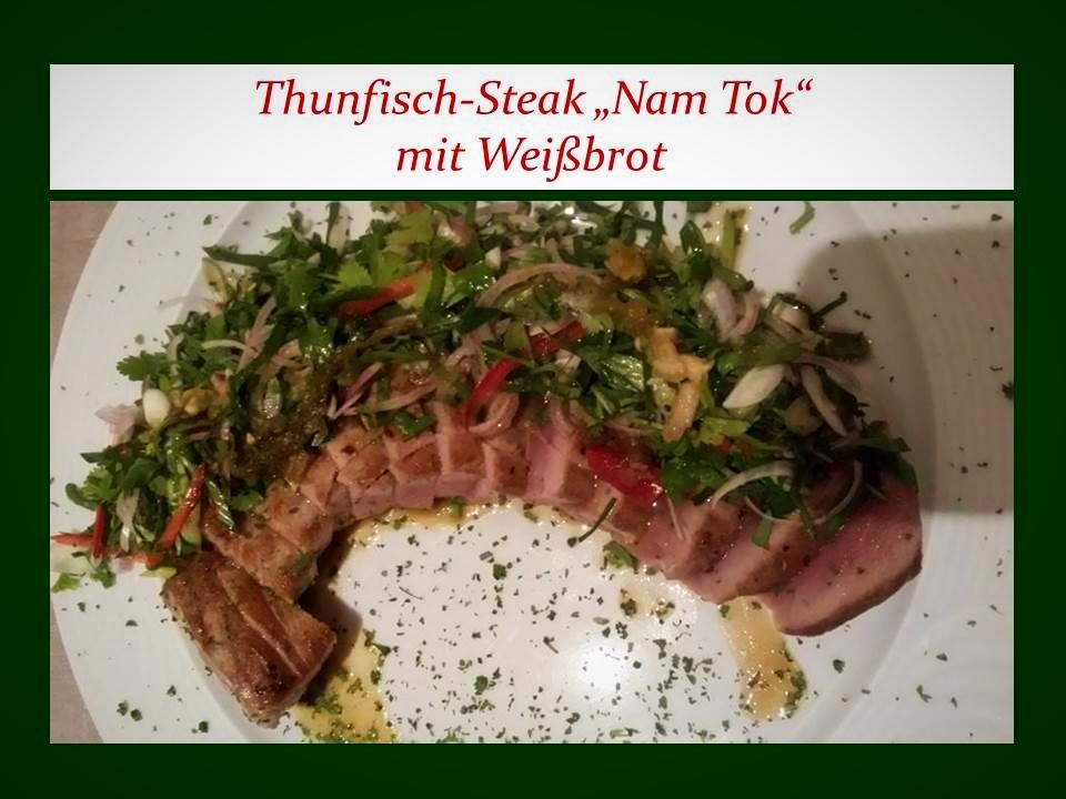 Thunfischsteak Thailand Style