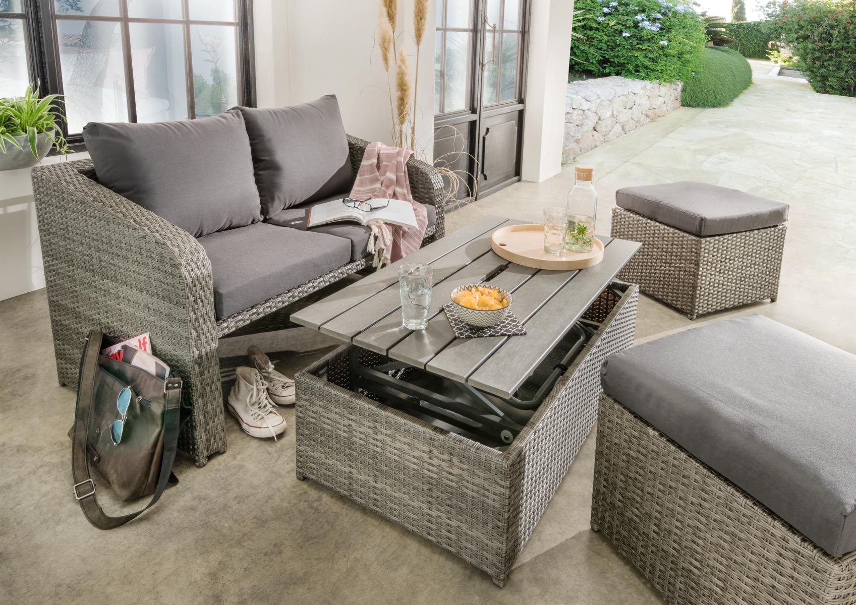 Kleine Loungegruppen Für Den Balkon Haus Garten Onlineshop