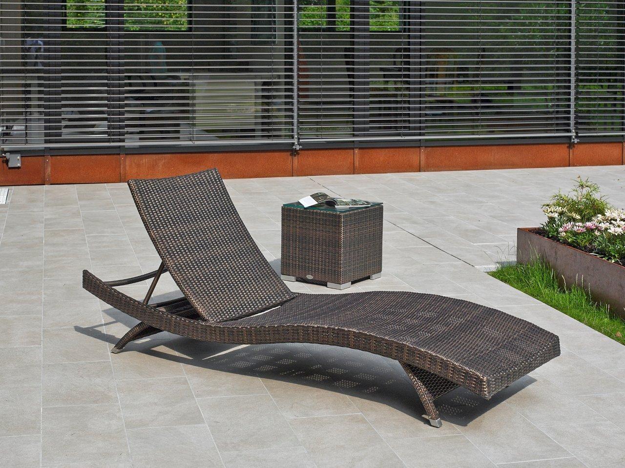 Geliebte Polyrattan Sonnenliegen   Haus U0026 Garten Onlineshop | Loungemöbel  UJ95