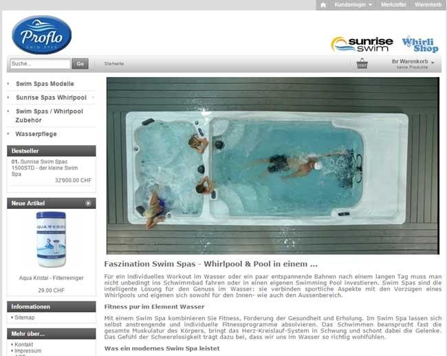 Swim-Spa.ch - Schwimm Spas und Whirlpools
