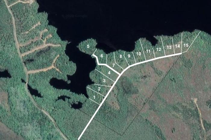 Lageplan Grundstück Nr. 1