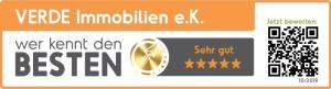 5 Sterne Rezension für VERDE Immobilien e.K. Pforzheim