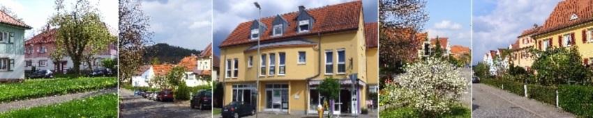 Impressionen aus dem Stadtteil Pforzheim-Arlinger, Firmensitz von VERDE Immobilien