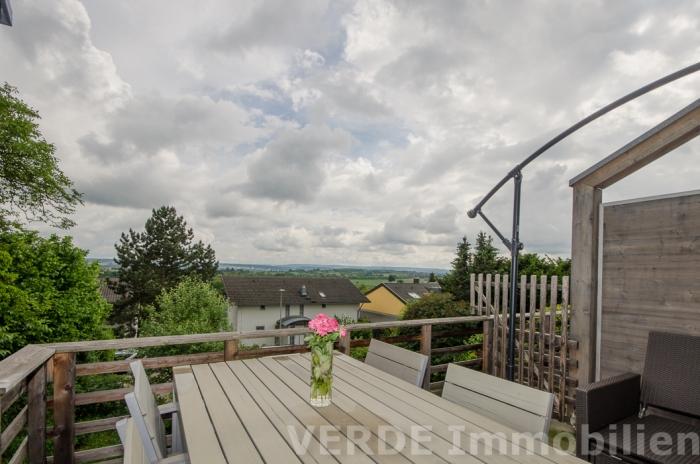 Unverbauter Ausblick Südbalkon