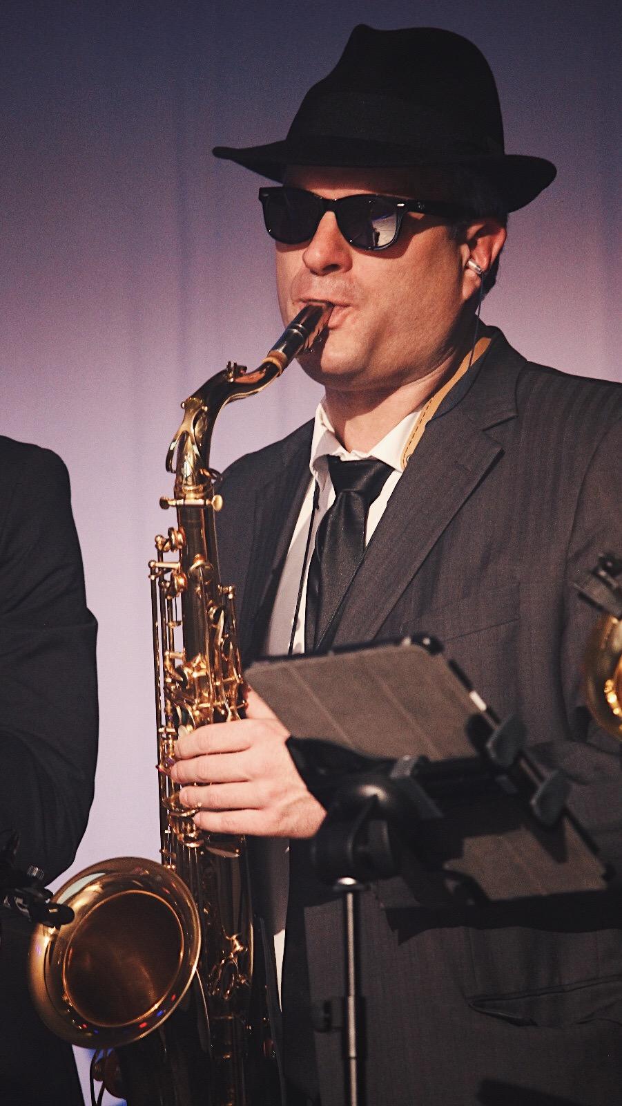 Matthias Meier am Saxophon (Bildrechte: Sabine Köstlmaier)