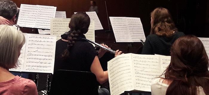 Das Orchester bei der Probe (Foto: MBO)