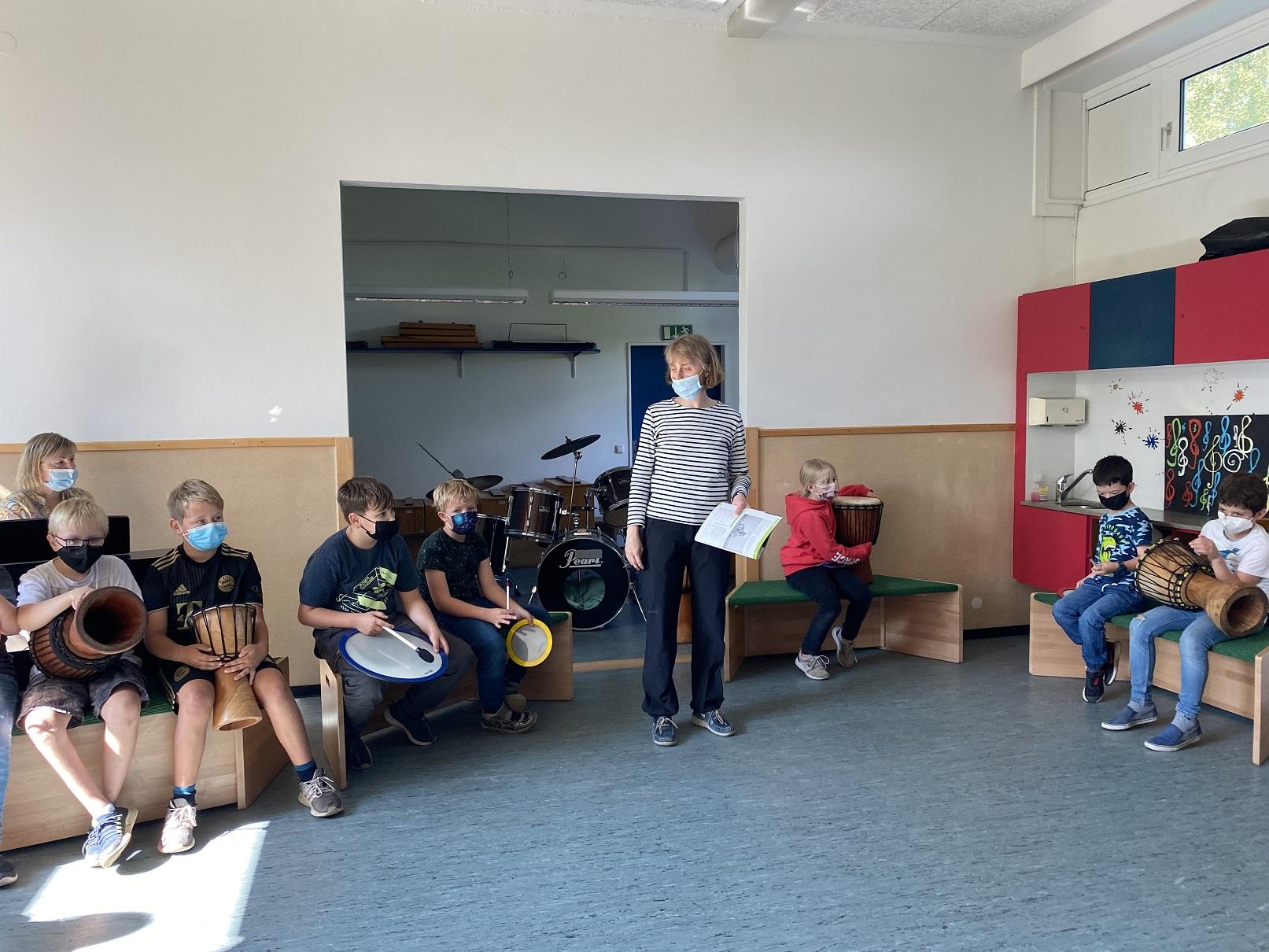 Musikunterricht mit Wiener Schnitzel