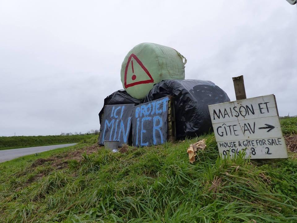 Panneau de vigilance mis en place par Vigil'Oust Merléac