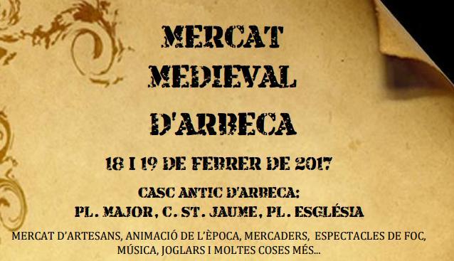 Mercado Medieval de d' Arbeca