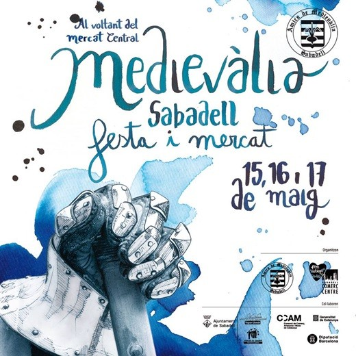 Cartel de Medievalia en Sabadell