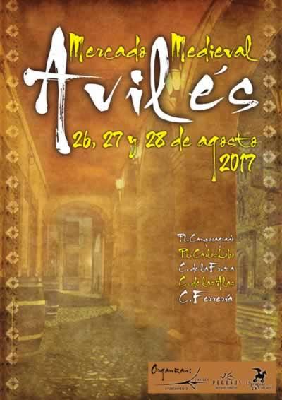 Programa del Mercado Medieval en Avilés