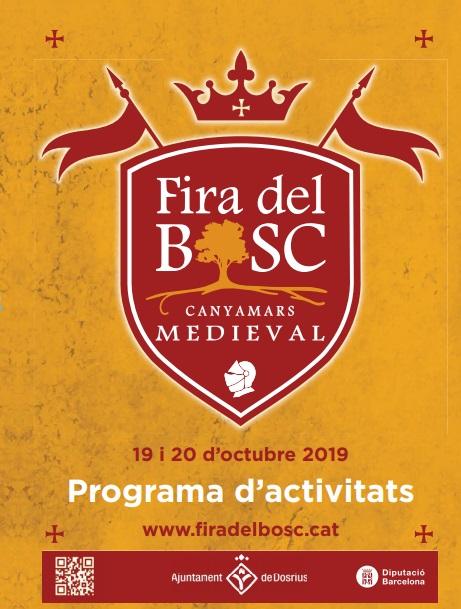 Fira del Bosc Medieval en Canyamars 2015 Programa