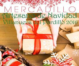 Programa del Mercadillo de navidad en Vilanueva del Pardillo