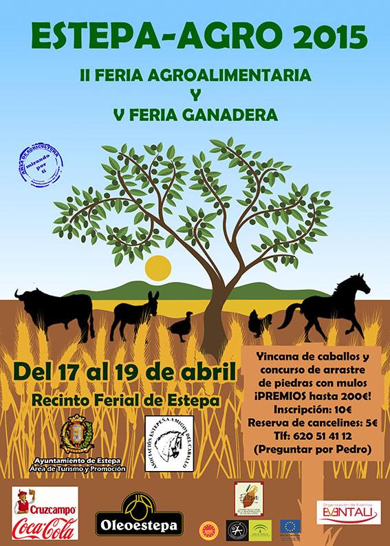 Feria agroalimentaria y ganadera en Estepa