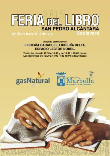 Feria del Libro en San Pedro Alcántara