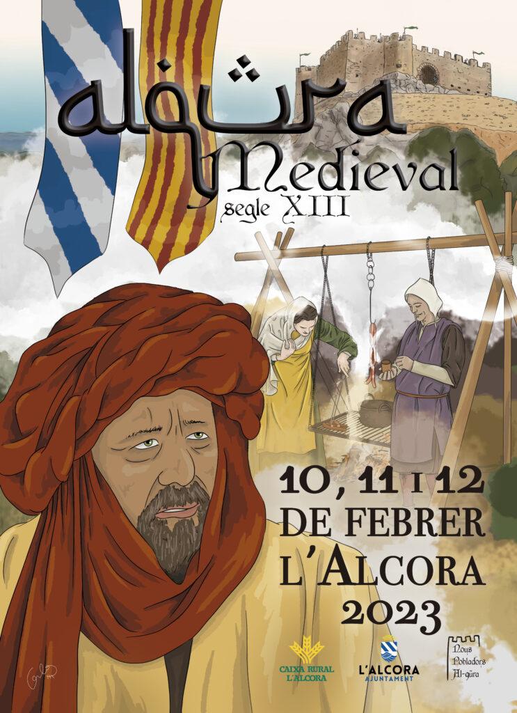 Programa de las Jornadas Medievales de Recreación histórica en la Alcora