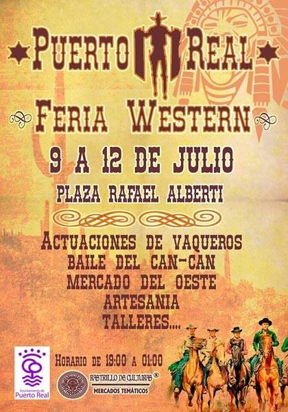Cartel Mercado Del Oeste en Puerto Real