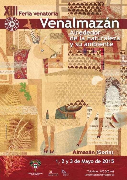 Cartel de la Feria Venalmazán en Almazán