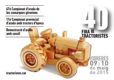 Fira de Tractoristes en Vidreres