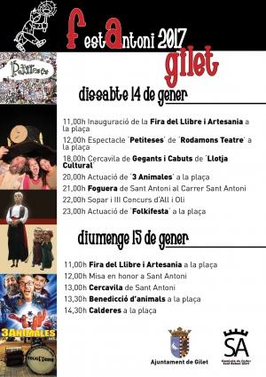 Programa de San Antoni en Gilet