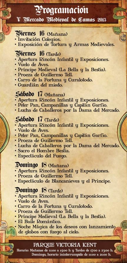 Mercado Medieval de Camas