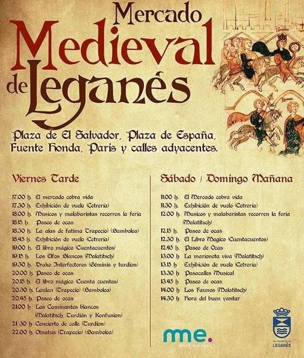 Mercado Medieval de Leganés