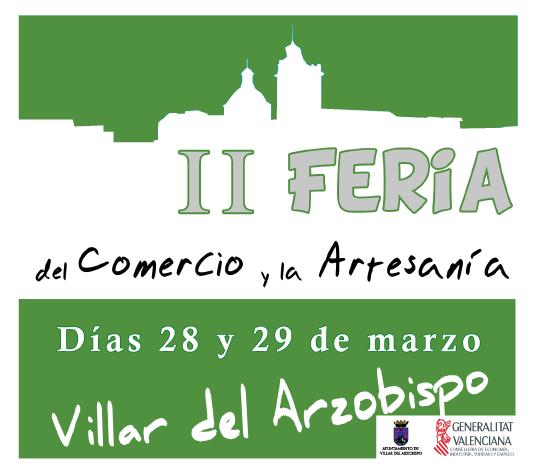 Feria de Comercio y Artesanía en Villar del Arzobispo