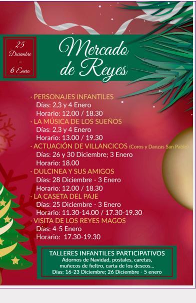 Programa Mercado de Reyes en Albacete