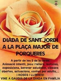 Programa Diada de Sant Jordi en Porqueres