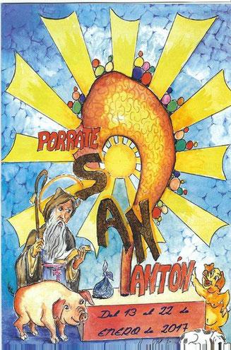 Programa del Porrat de San Antón en Alicante