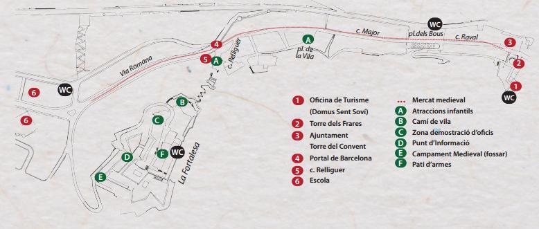 Programa de la Feria Medieval de Hostalric