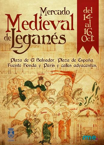 Programa del Mercado Medieval en Leganés