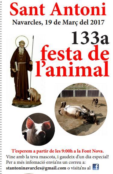 Programa de Sant Antoni en Navarcles