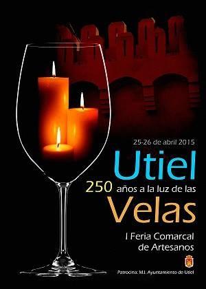 Programa de la I Feria Comarcal de Artesanos en Utiel