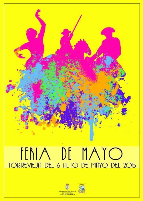 Cartel de la Feria de Mayo en Torrevieja