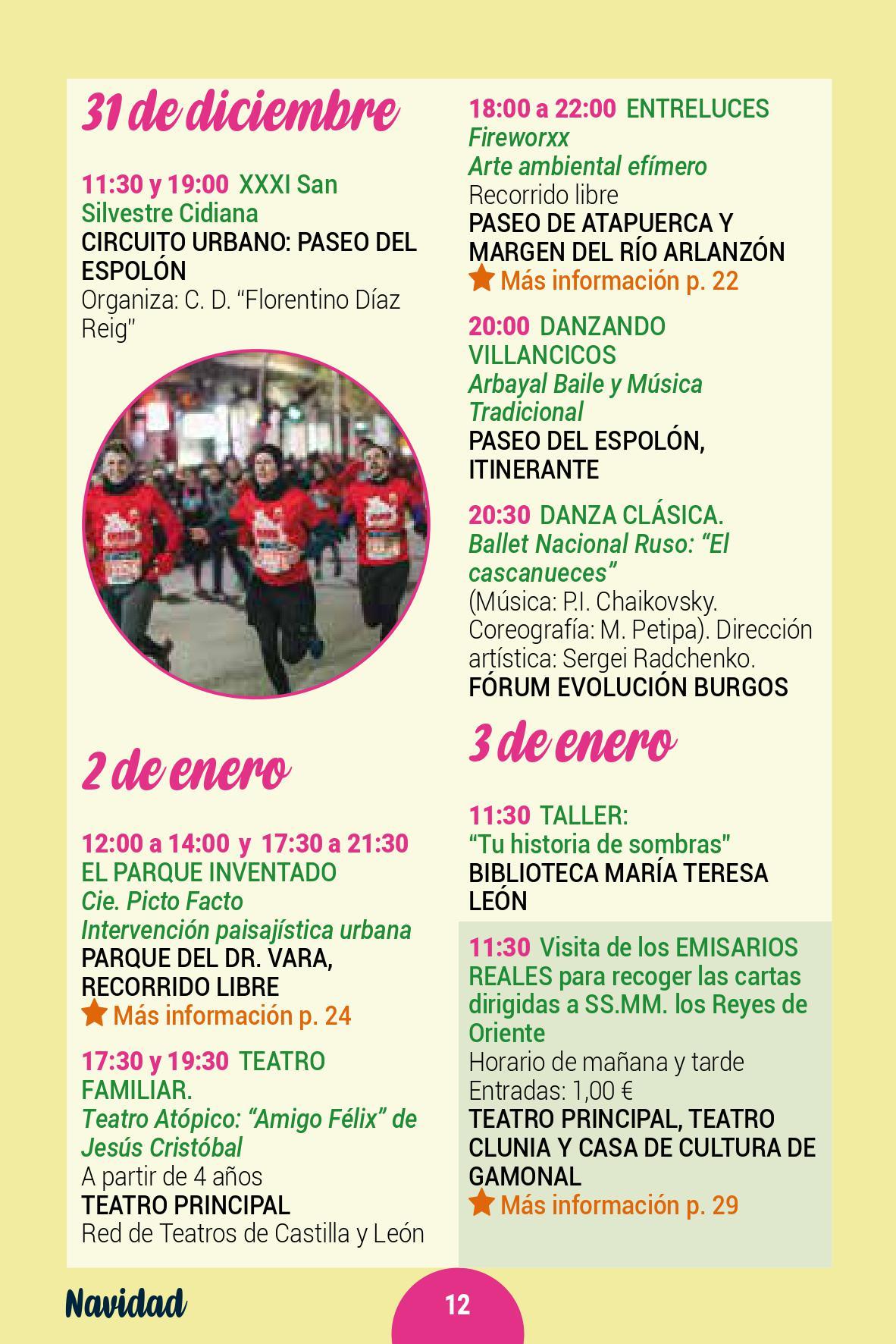 La Navidad en Burgos Concierto