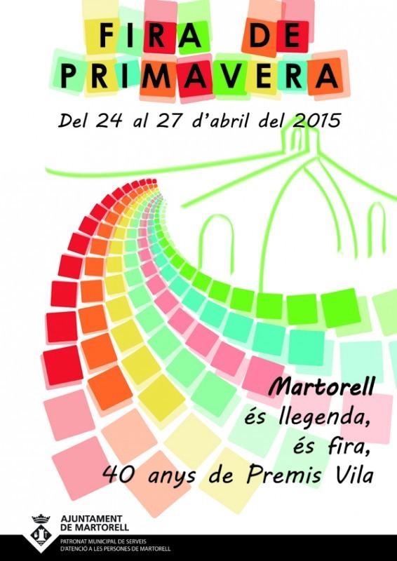 Fira de Primavera 2015 en Martorell