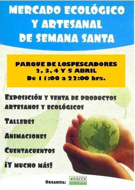 Mercado Ecológico y artesanal en Semana Santa